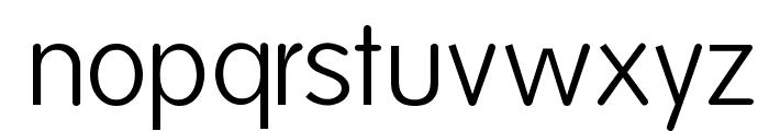 Folks-Light Font LOWERCASE