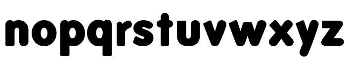 FolksBlack Font LOWERCASE