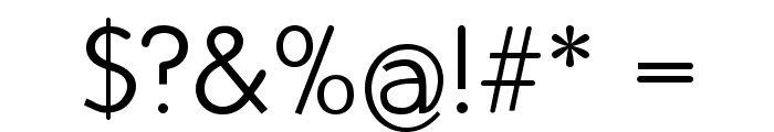 FolksDecoon-Light Font OTHER CHARS