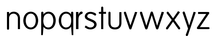 FolksDecoon-Light Font LOWERCASE