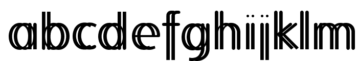 FolksTwins Font LOWERCASE