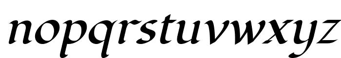 Fondamento-Italic Font LOWERCASE