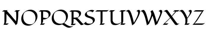Fondamento Regular Font UPPERCASE