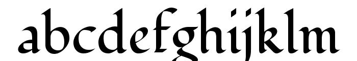 Fondamento Regular Font LOWERCASE