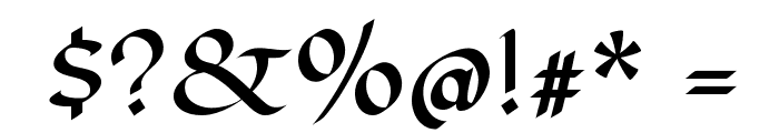 Fondamento Font OTHER CHARS