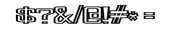 FonderianFineline Font OTHER CHARS