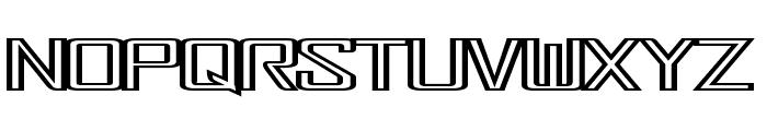 FonderianFineline Font LOWERCASE