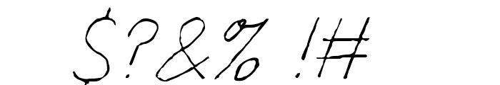 Fondue Font OTHER CHARS