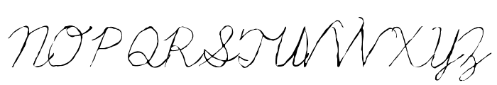 Fondue Font UPPERCASE