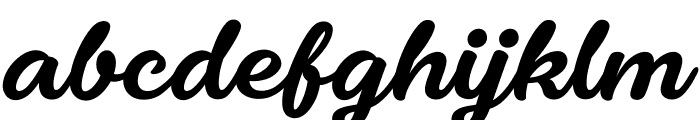 Fondy Script PERSONAL USE ONLY Font LOWERCASE