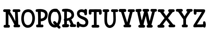 Fonesia Bold Font UPPERCASE