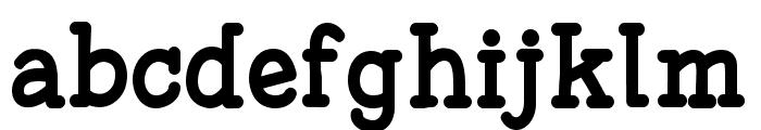 Fonesia Bold Font LOWERCASE