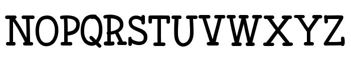 Fonesia Font UPPERCASE