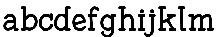 Fonesia Font LOWERCASE