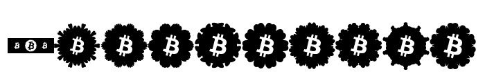 Font Bitcoin Color Font OTHER CHARS