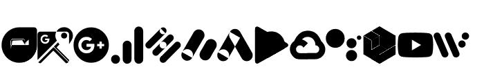 Font Google Color Font LOWERCASE