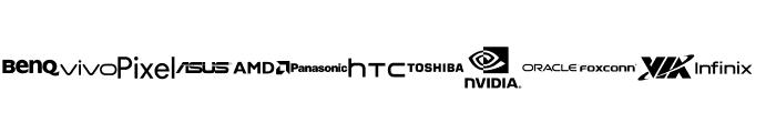 Font Logos Technology Font UPPERCASE