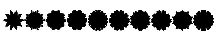 Font Shapes 2019 Font OTHER CHARS