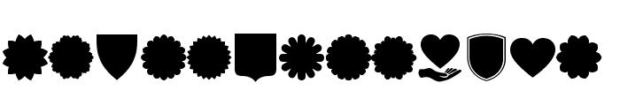 Font Shapes 2019 Font UPPERCASE