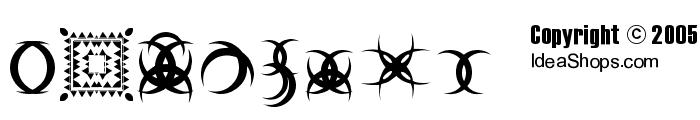 FontCo Designs 2 Font OTHER CHARS