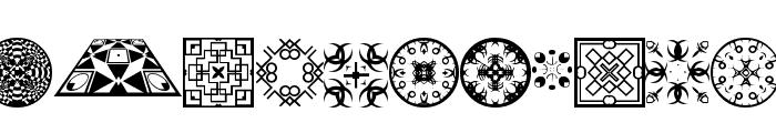 FontCo Designs 2 Font UPPERCASE