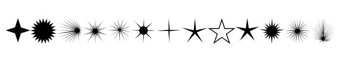 FontCo Flares Font UPPERCASE