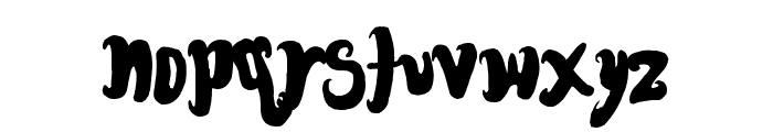 FontForTheDumped Font LOWERCASE