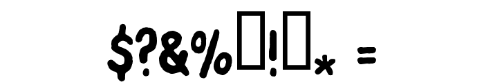 FontOnAStick Font OTHER CHARS