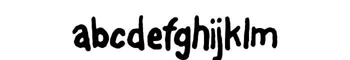 FontOnAStick Font LOWERCASE