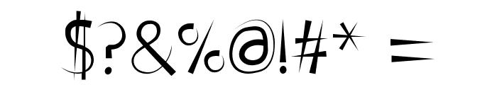 FontPenetration Font OTHER CHARS