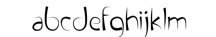 FontPenetration Font LOWERCASE