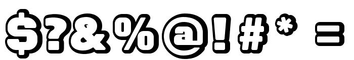 FontaneroBevel Font OTHER CHARS