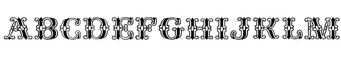 Fontanesi Font UPPERCASE