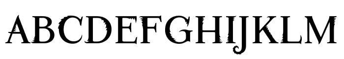 Fontastic Beast Font UPPERCASE