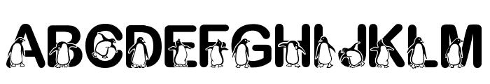 Fontasy Penguin Font UPPERCASE