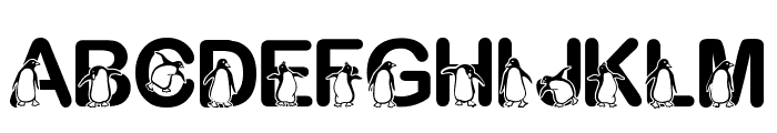 Fontasy Penguin Font LOWERCASE