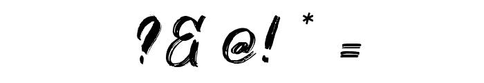 Fontbliz Font OTHER CHARS