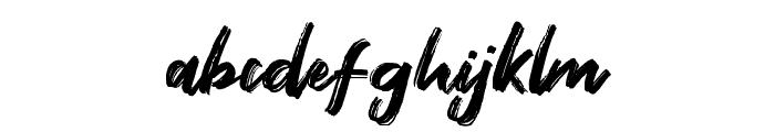 Fontbliz Font LOWERCASE