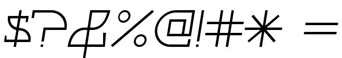 Fontcop II Font OTHER CHARS