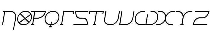 Fontcop III Font UPPERCASE