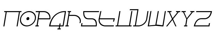 Fontcop II Font LOWERCASE