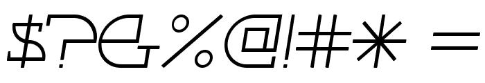 Fontcop Font OTHER CHARS