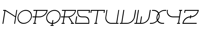Fontcop Font UPPERCASE