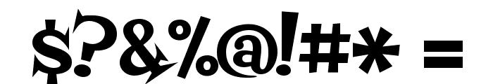 Fontdiner Swanky Font OTHER CHARS