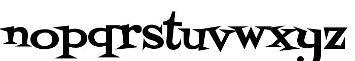 Fontdiner Swanky Font LOWERCASE