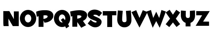 Fontdinerdotcom Huggable Font LOWERCASE