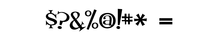 Fontdinerdotcom Loungy Font OTHER CHARS