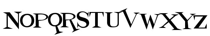 Fontdinerdotcom Loungy Font UPPERCASE