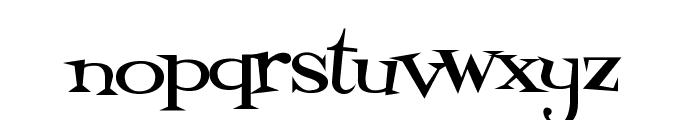 Fontdinerdotcom Loungy Font LOWERCASE