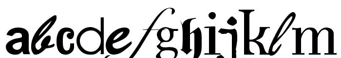 Fontfetish Font LOWERCASE